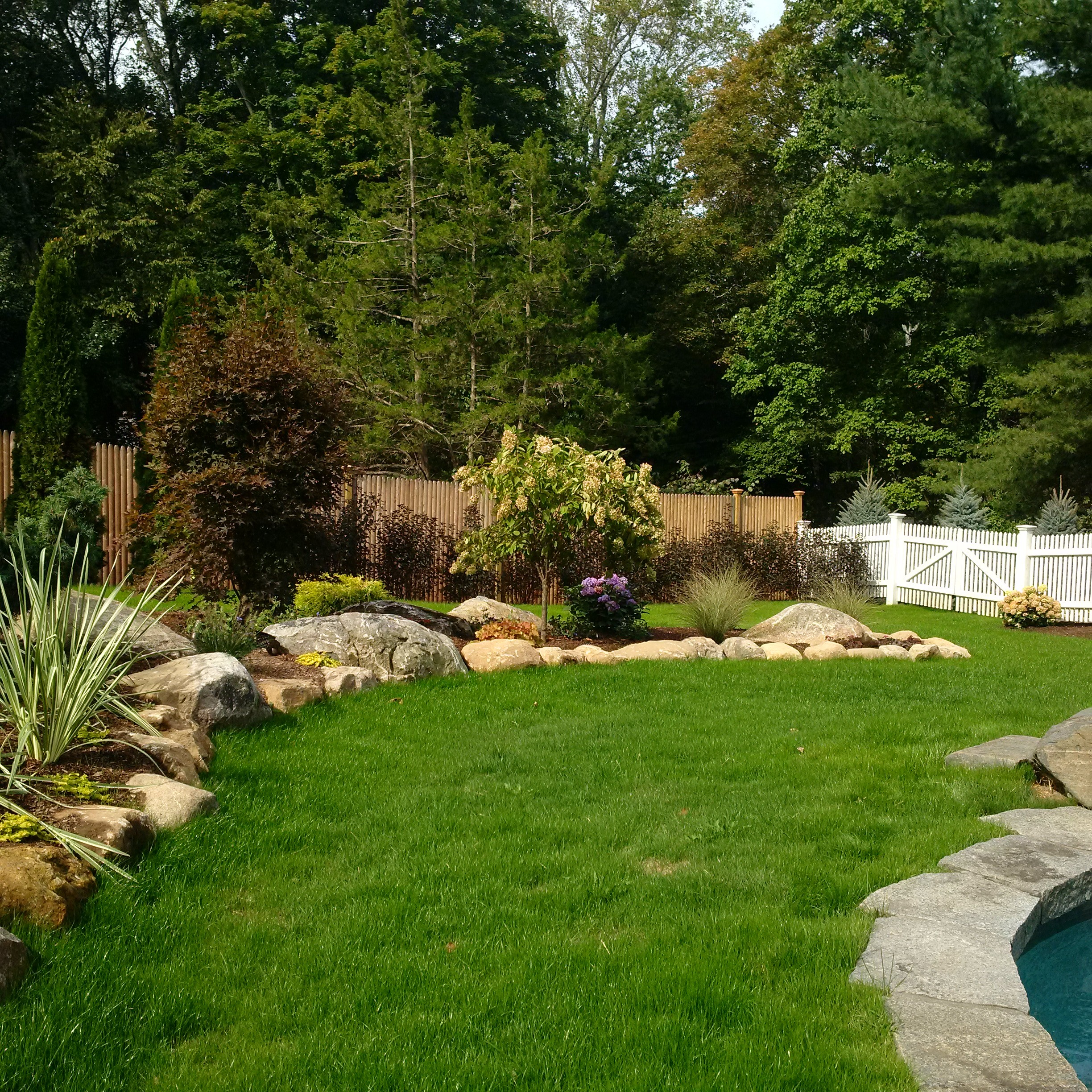 New canaan landscaping masonry bolton landscape design for New landscape design