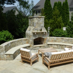 Light Up The Night Backyard Fire Pits And Outdoor Fireplaces